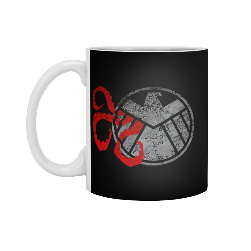 Lurking In The Shadows Accessories Standard Mug by Evan Ayres Design