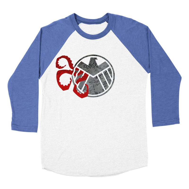 Lurking In The Shadows Men's Baseball Triblend Longsleeve T-Shirt by Evan Ayres Design