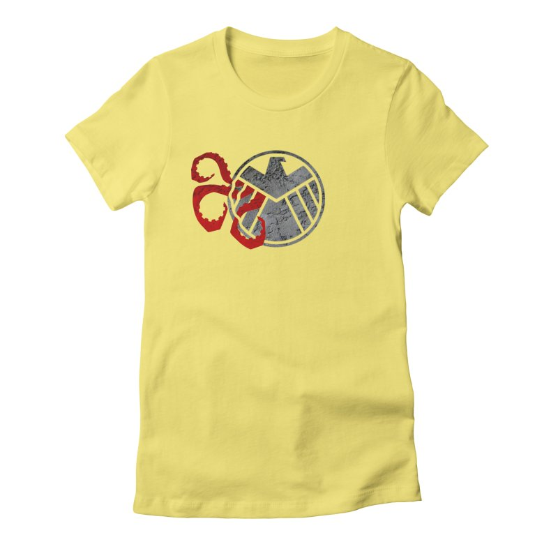 Lurking In The Shadows Women's Fitted T-Shirt by Evan Ayres