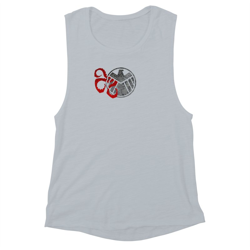 Lurking In The Shadows Women's Muscle Tank by Evan Ayres