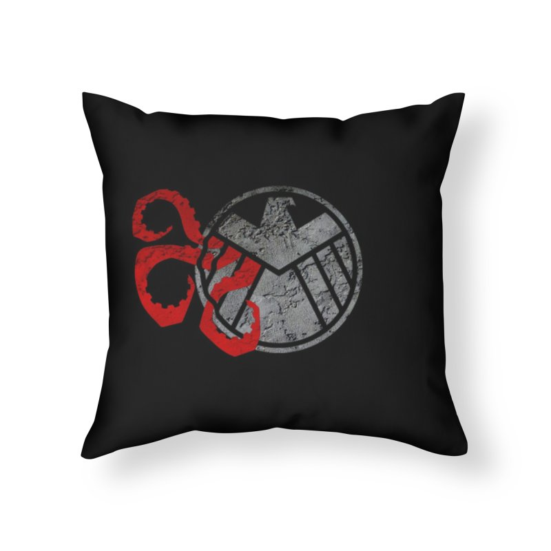 Lurking In The Shadows Home Throw Pillow by Evan Ayres Design