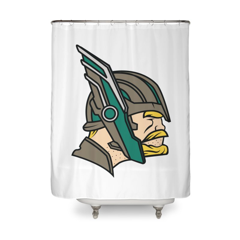 MinnesOdinson Home Shower Curtain by Evan Ayres