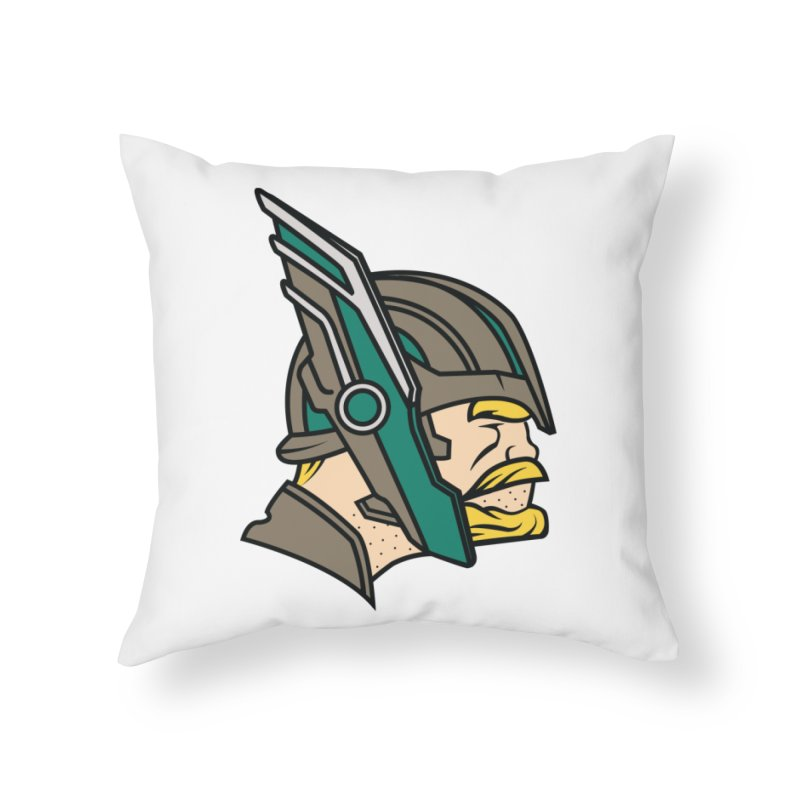 MinnesOdinson Home Throw Pillow by Evan Ayres