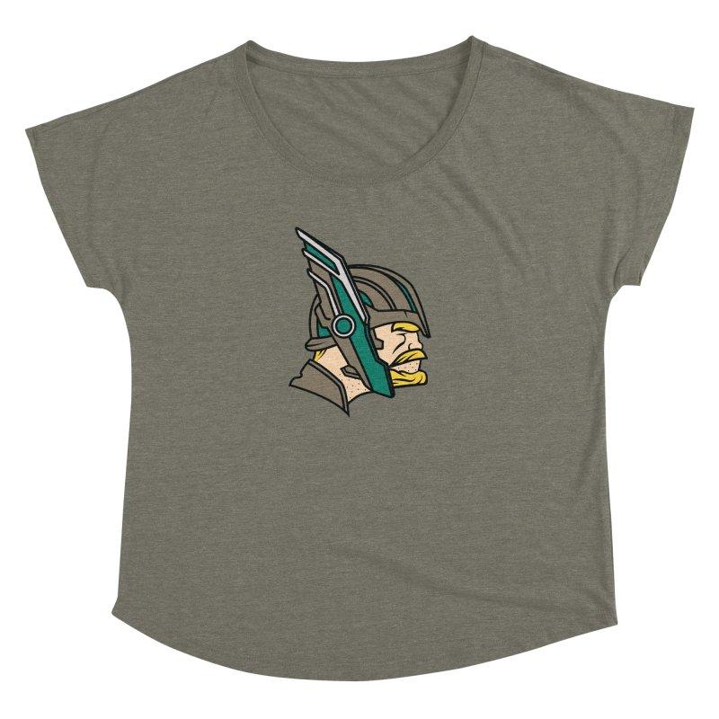 MinnesOdinson Women's Dolman Scoop Neck by Evan Ayres Design