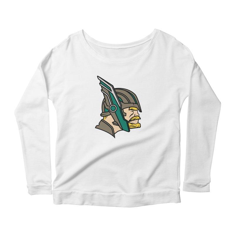 MinnesOdinson Women's Scoop Neck Longsleeve T-Shirt by Evan Ayres