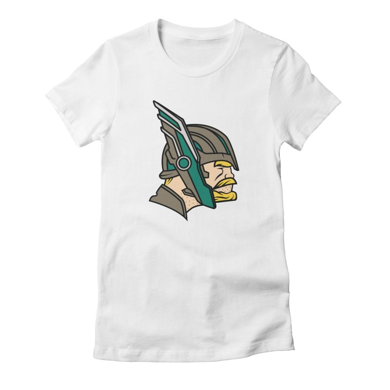 MinnesOdinson Women's Fitted T-Shirt by Evan Ayres