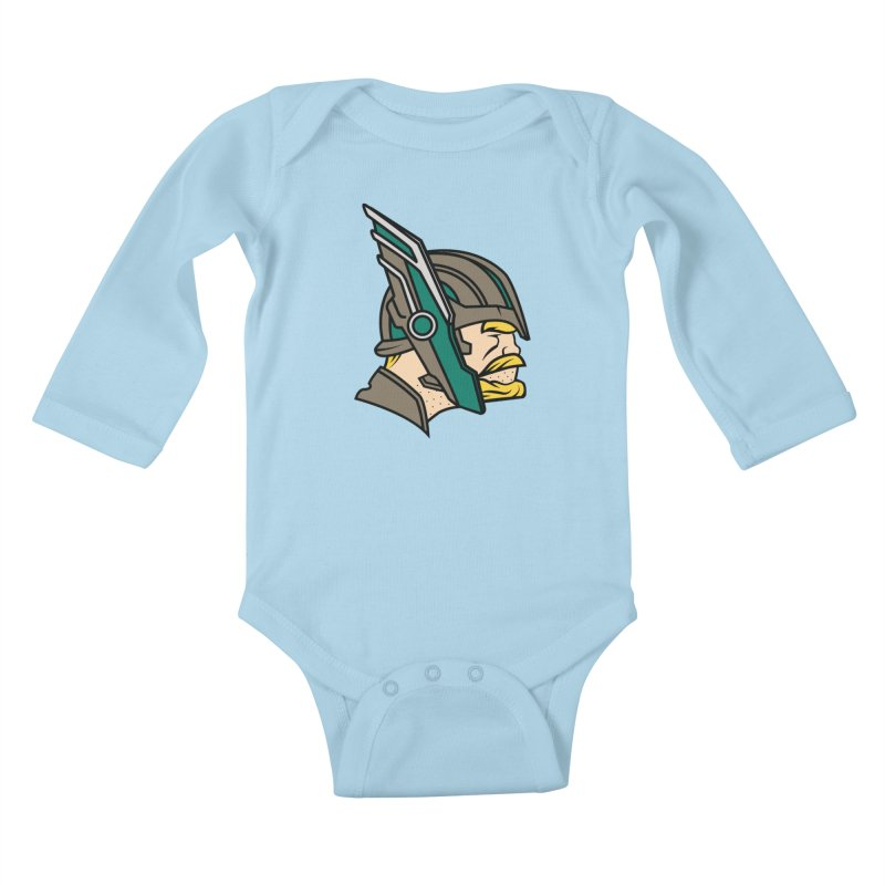 MinnesOdinson Kids Baby Longsleeve Bodysuit by Evan Ayres Design