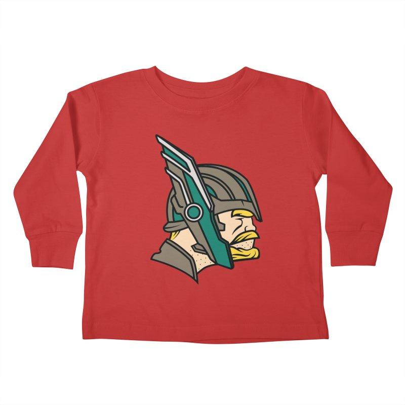 MinnesOdinson Kids Toddler Longsleeve T-Shirt by Evan Ayres Design