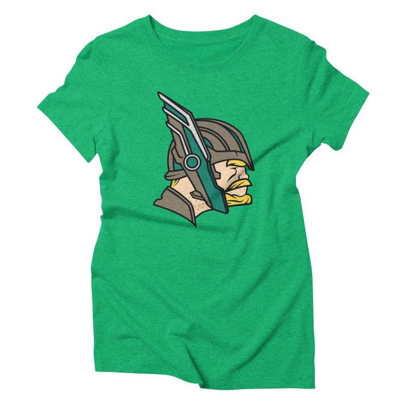 MinnesOdinson Women's Triblend T-Shirt by Evan Ayres Design