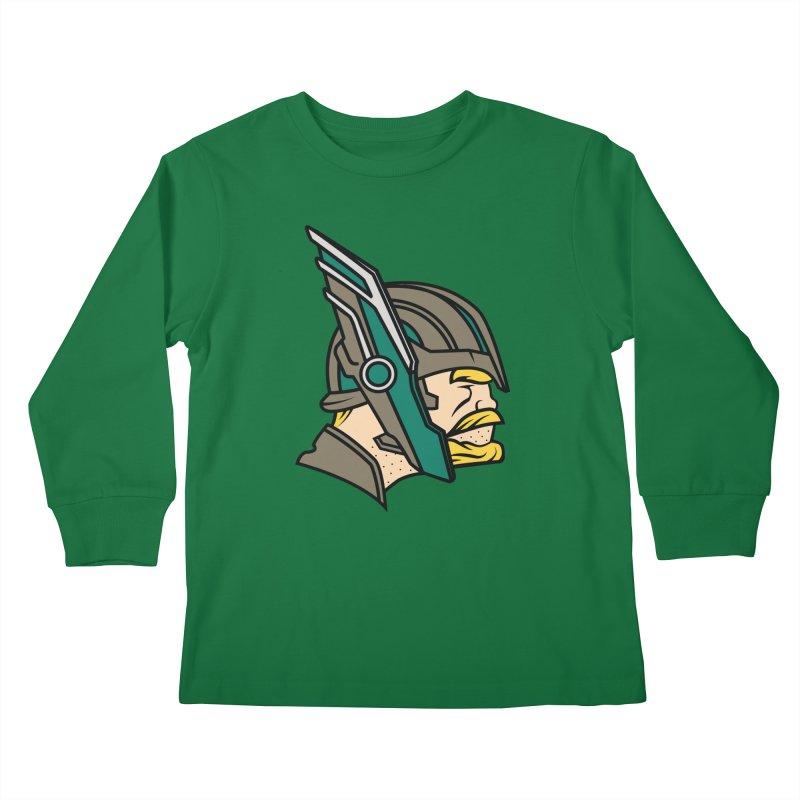 MinnesOdinson Kids Longsleeve T-Shirt by Evan Ayres Design