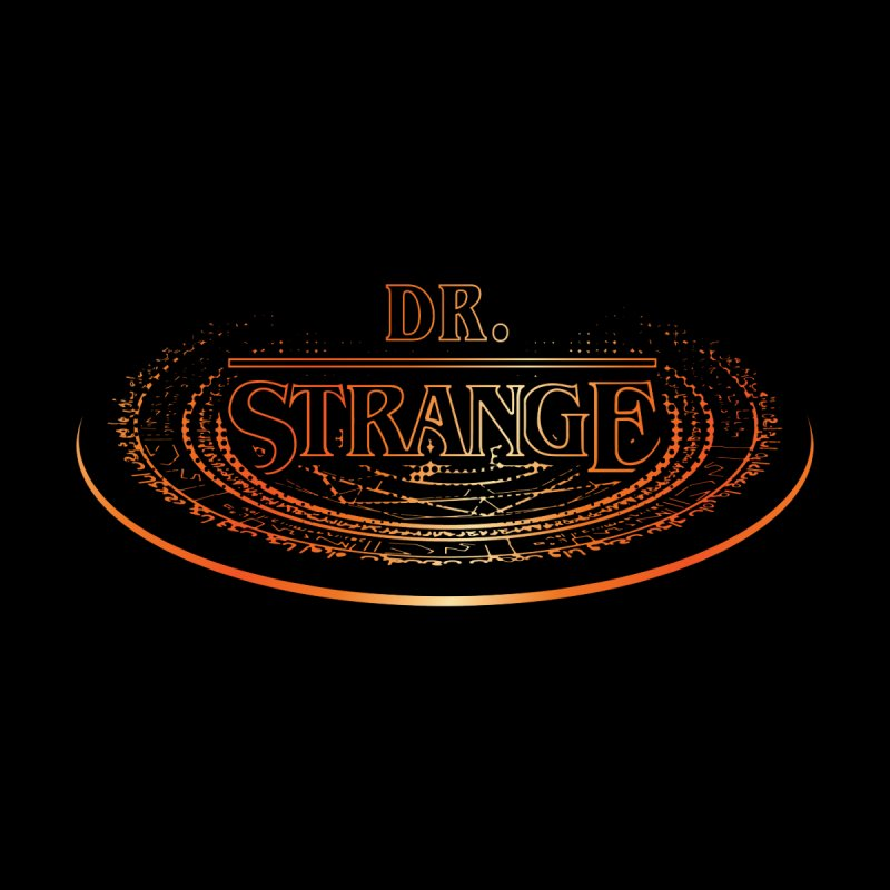 Dr. Stranger Things by Evan Ayres Design