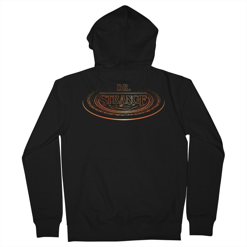 Dr. Stranger Things Women's French Terry Zip-Up Hoody by Evan Ayres Design