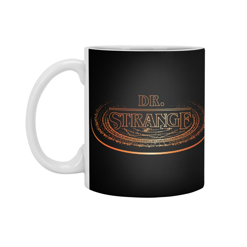 Dr. Stranger Things Accessories Standard Mug by Evan Ayres Design