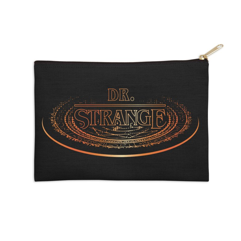 Dr. Stranger Things Accessories Zip Pouch by Evan Ayres Design