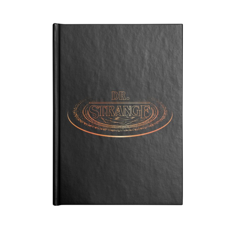 Dr. Stranger Things Accessories Notebook by Evan Ayres Design