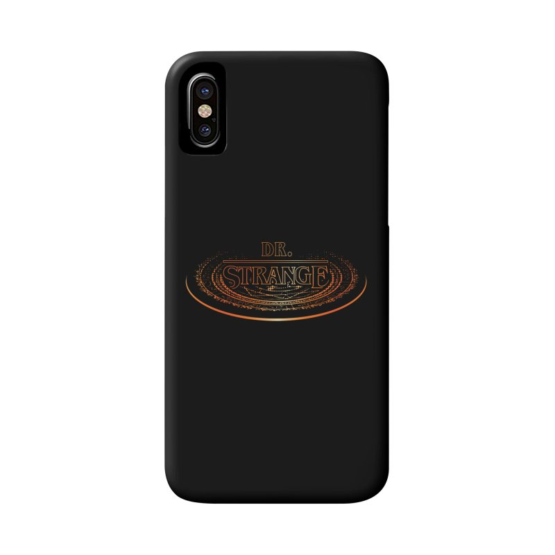 Dr. Stranger Things Accessories Phone Case by Evan Ayres Design