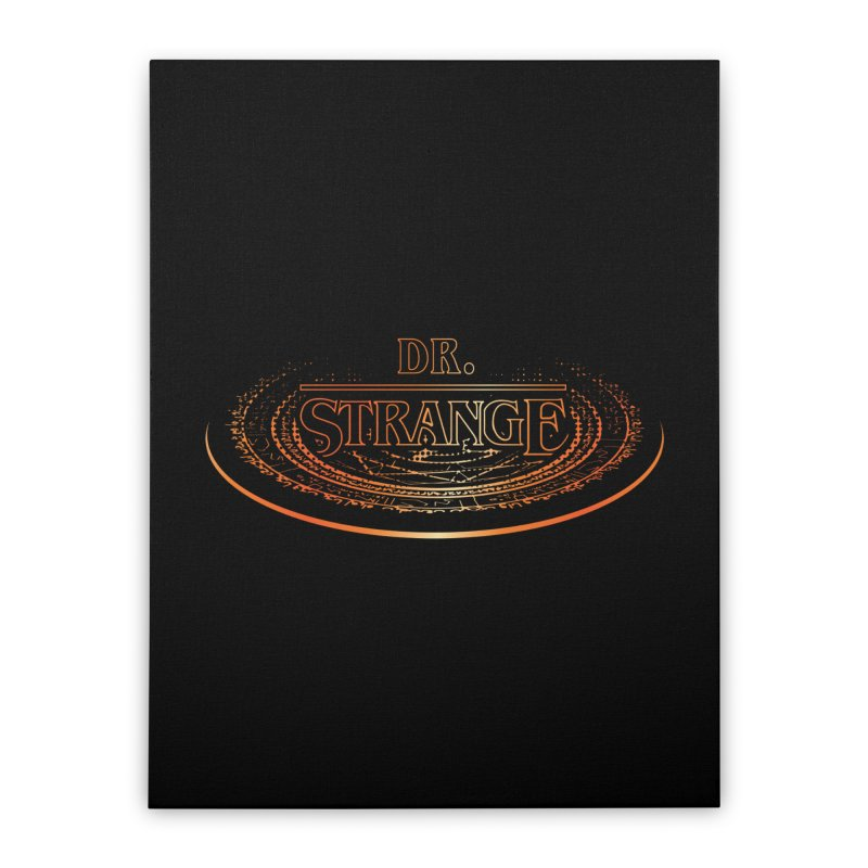 Dr. Stranger Things Home Stretched Canvas by Evan Ayres Design