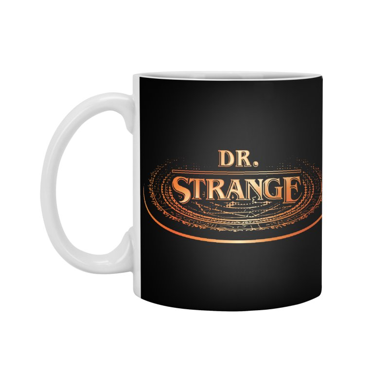 Dr. Stranger Things Accessories Mug by Evan Ayres