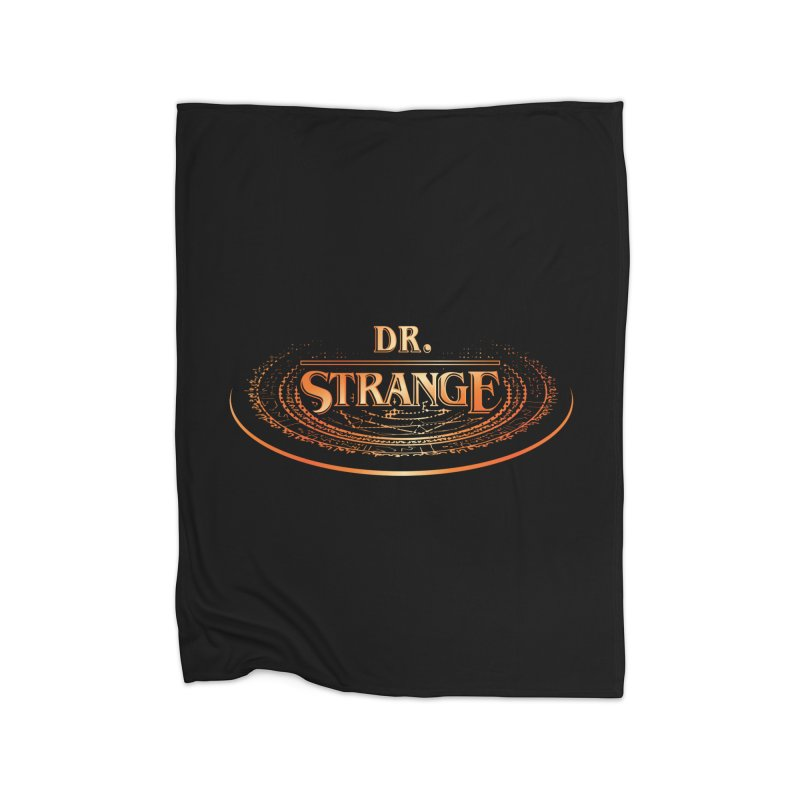 Dr. Stranger Things Home Blanket by Evan Ayres