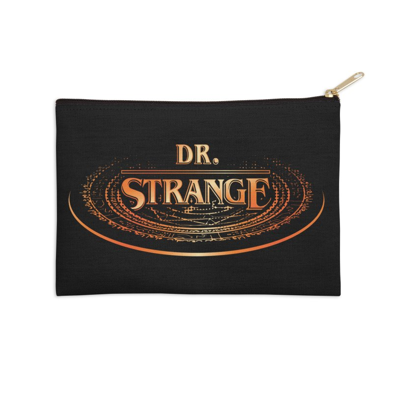 Dr. Stranger Things Accessories Zip Pouch by Evan Ayres