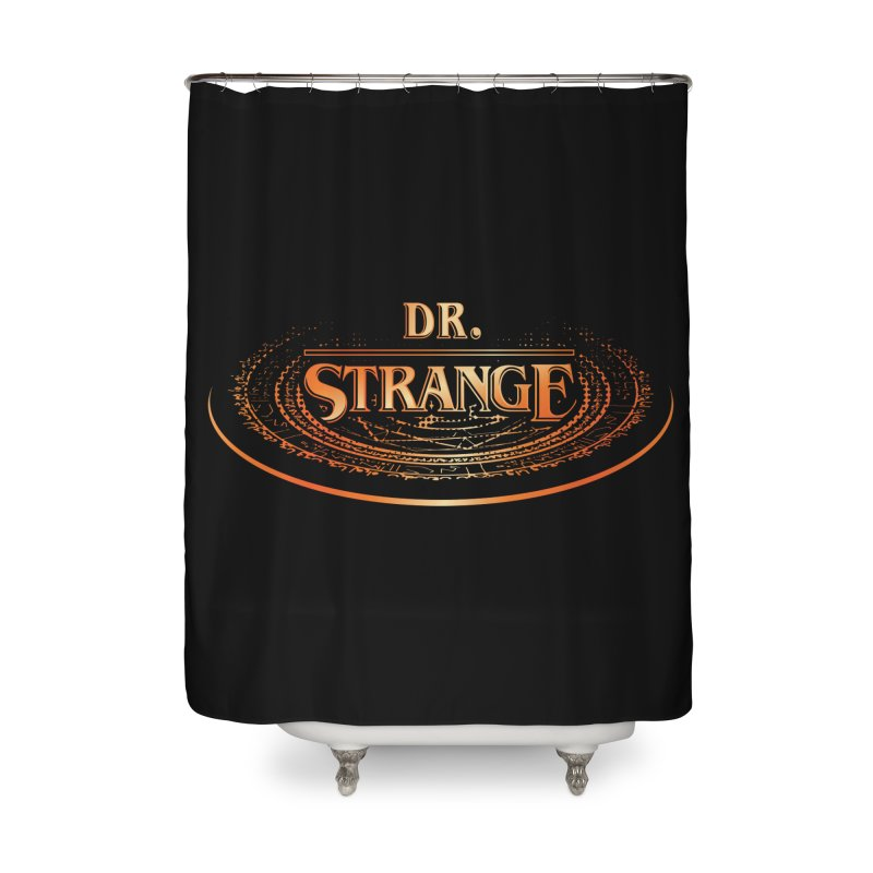 Dr. Stranger Things Home Shower Curtain by Evan Ayres