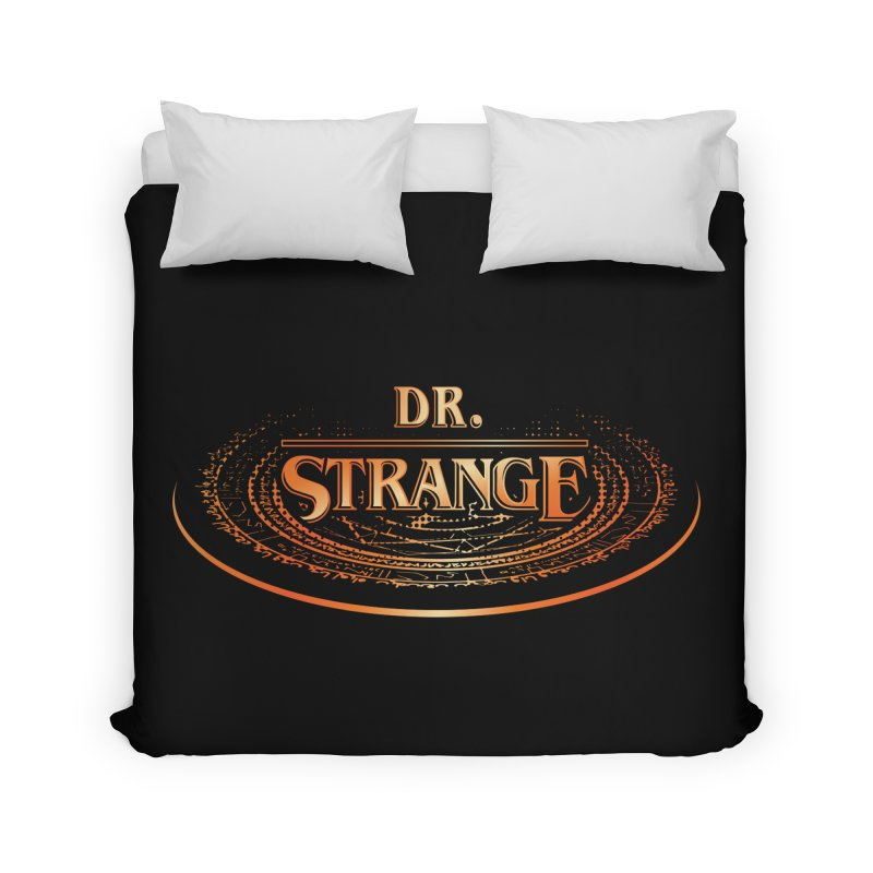 Dr. Stranger Things Home Duvet by Evan Ayres