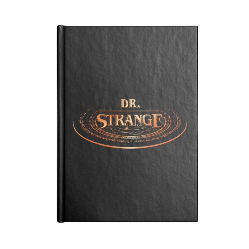 Dr. Stranger Things Accessories Notebook by Evan Ayres