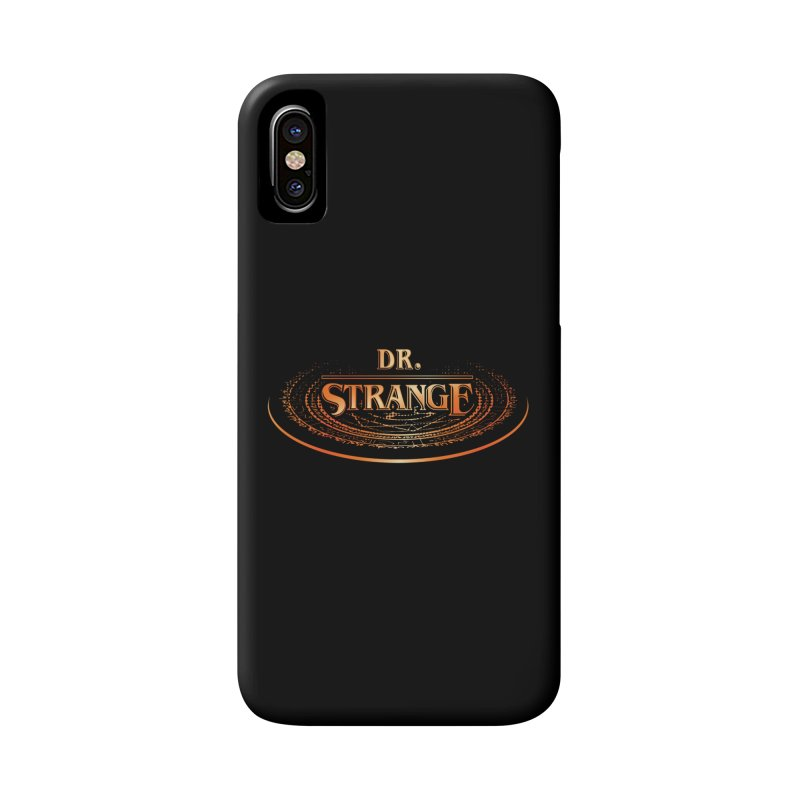 Dr. Stranger Things Accessories Phone Case by Evan Ayres