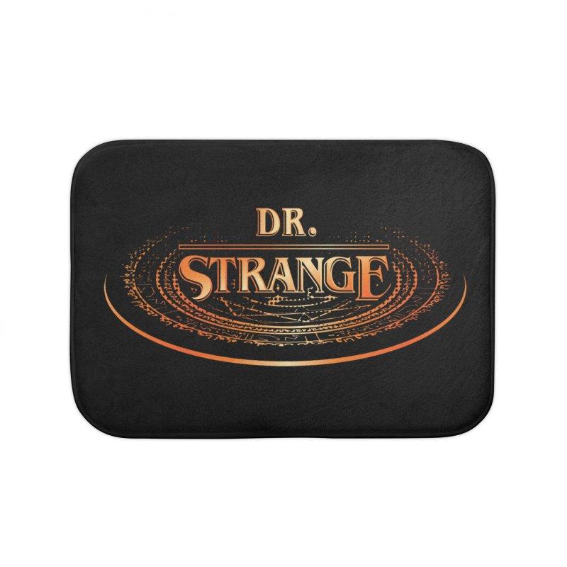 Dr. Stranger Things Home Bath Mat by Evan Ayres