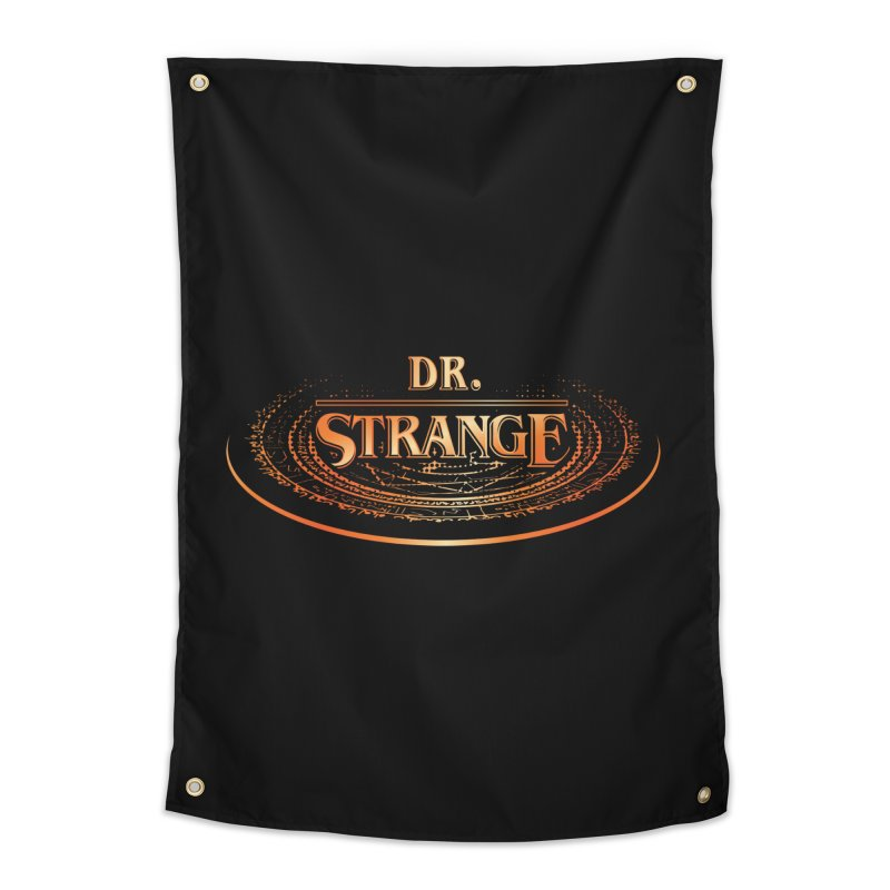 Dr. Stranger Things Home Tapestry by Evan Ayres Design