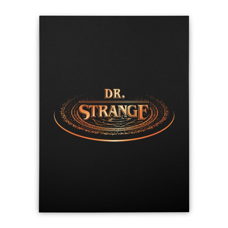 Dr. Stranger Things Home Stretched Canvas by Evan Ayres