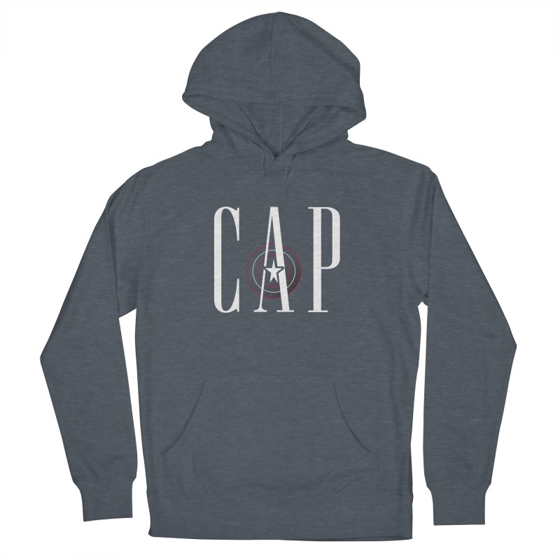 Cap Men's French Terry Pullover Hoody by Evan Ayres