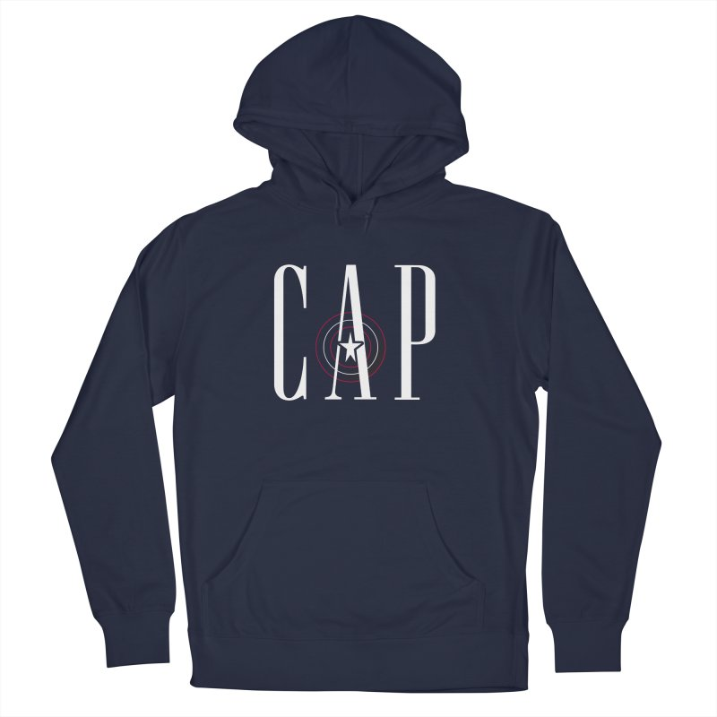 Cap Men's French Terry Pullover Hoody by Evan Ayres Design