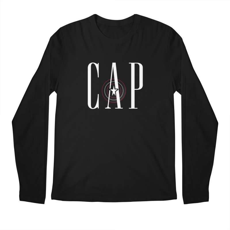 Cap Men's Regular Longsleeve T-Shirt by Evan Ayres Design