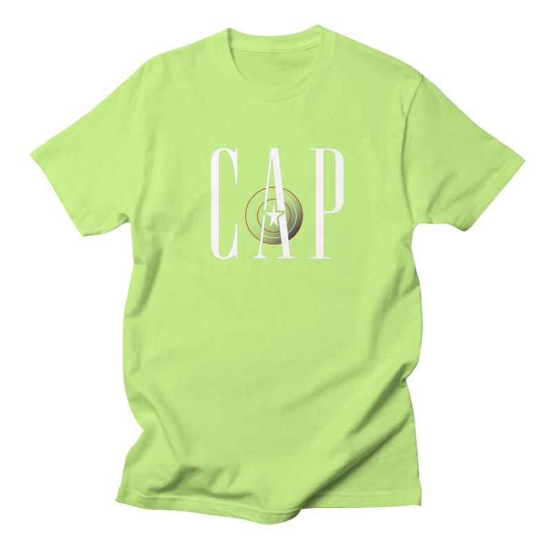 Cap Men's Regular T-Shirt by Evan Ayres