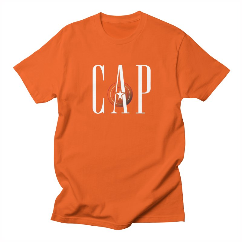 Cap Men's Regular T-Shirt by Evan Ayres