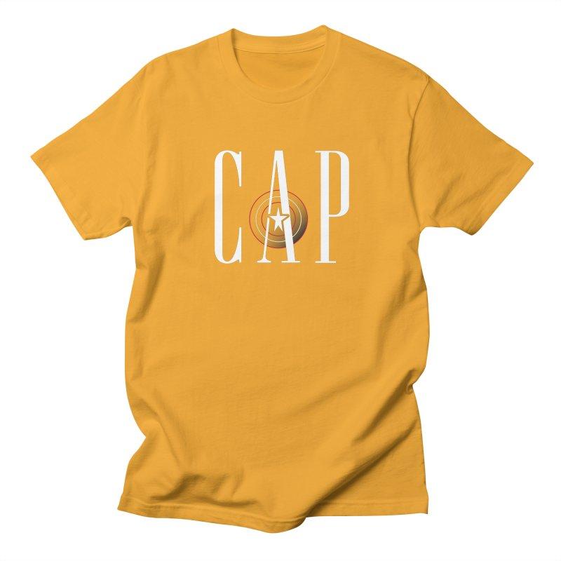 Cap Men's T-Shirt by Evan Ayres