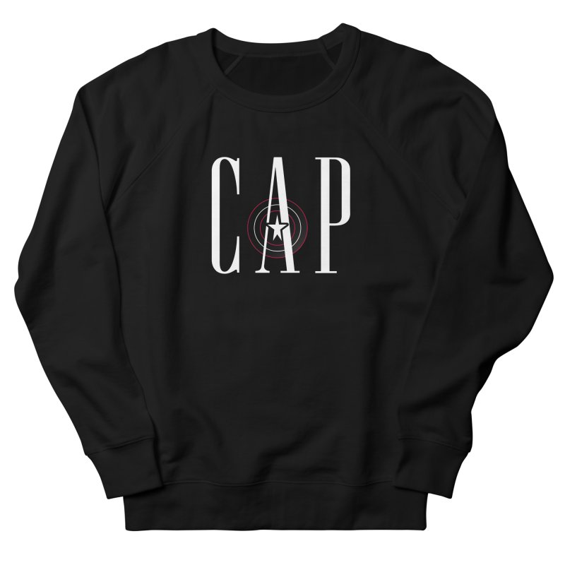 Cap Men's French Terry Sweatshirt by Evan Ayres