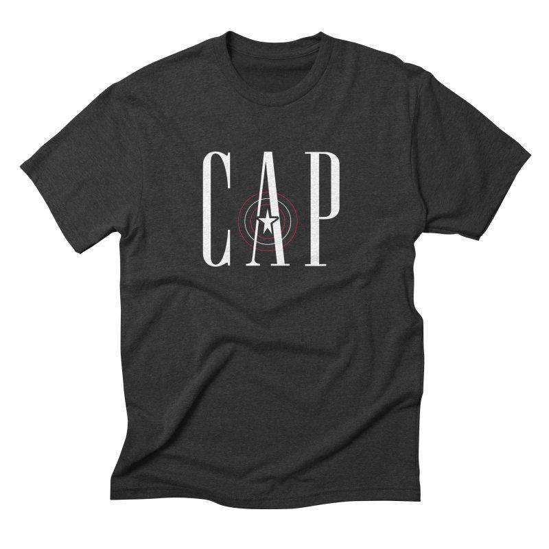 Cap Men's Triblend T-Shirt by Evan Ayres