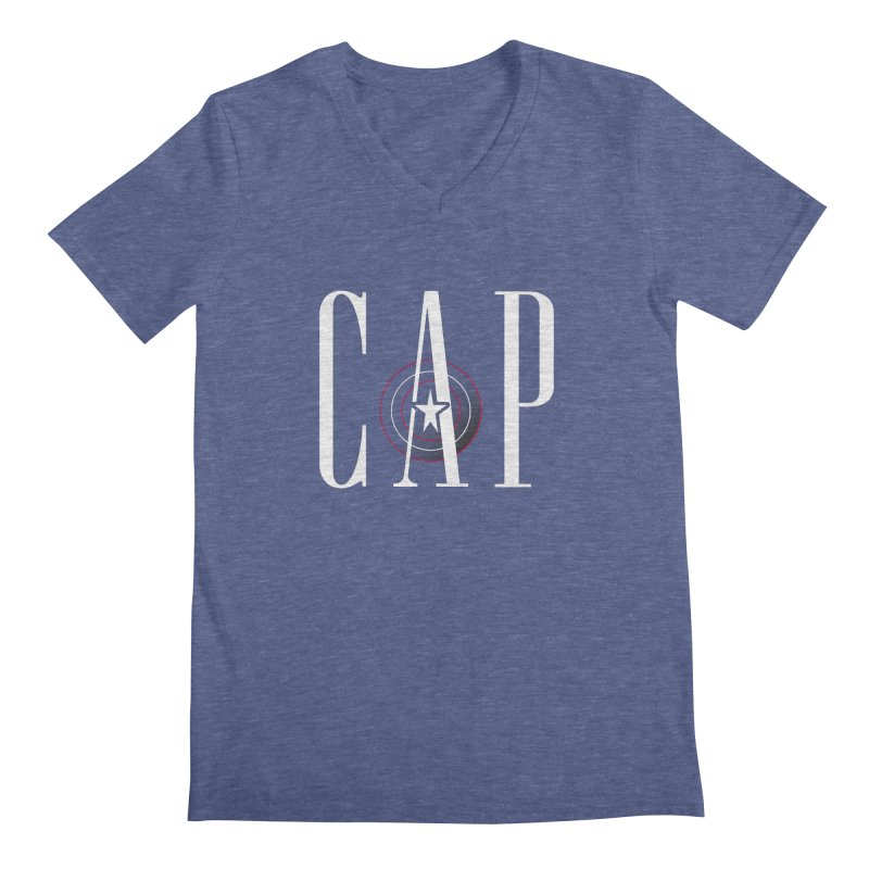 Cap Men's Regular V-Neck by Evan Ayres