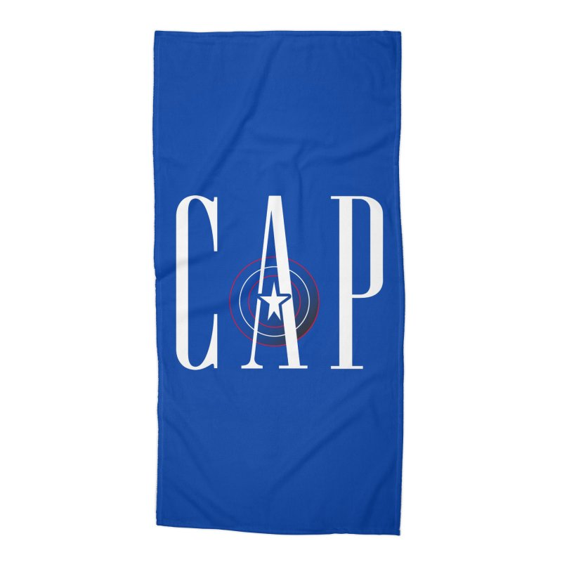 Cap Accessories Beach Towel by Evan Ayres