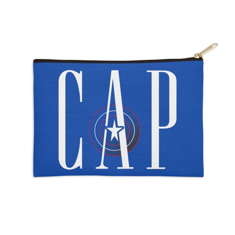 Cap Accessories Zip Pouch by Evan Ayres