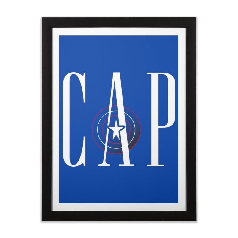Cap Home Framed Fine Art Print by Evan Ayres