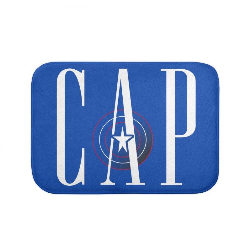 Cap Home Bath Mat by Evan Ayres