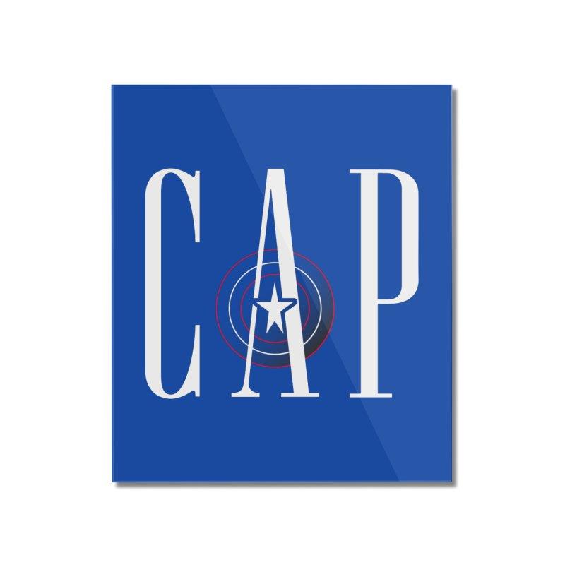 Cap Home Mounted Acrylic Print by Evan Ayres