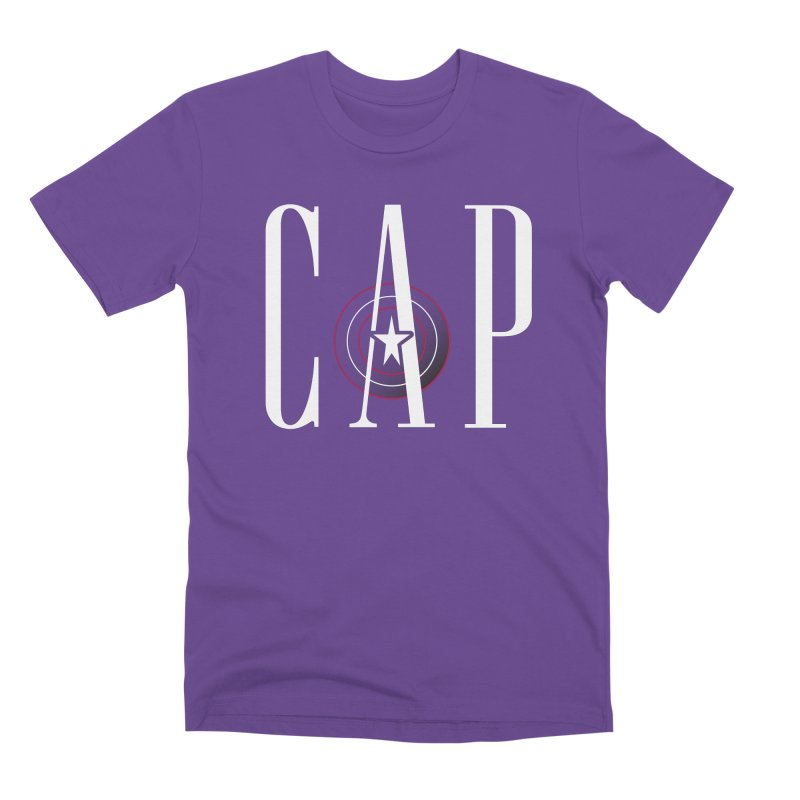 Cap Men's Premium T-Shirt by Evan Ayres Design