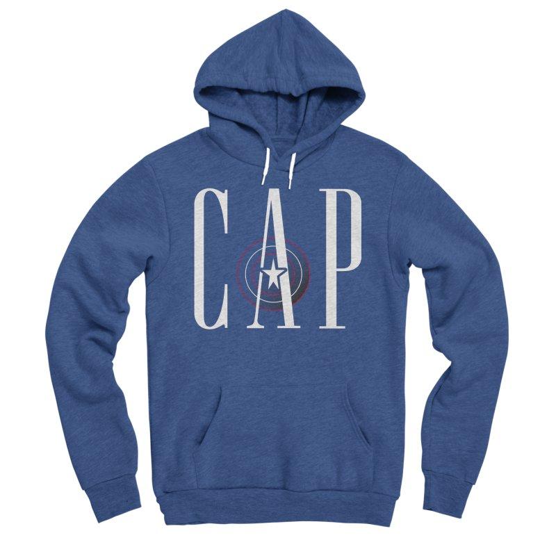 Cap Men's Sponge Fleece Pullover Hoody by Evan Ayres Design