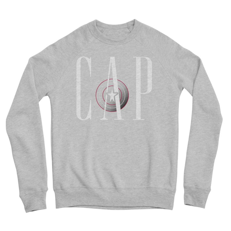 Cap Men's Sponge Fleece Sweatshirt by Evan Ayres Design