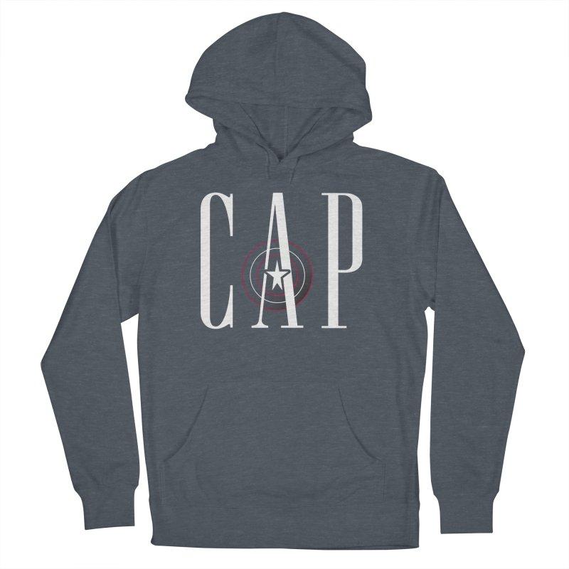 Cap Men's French Terry Pullover Hoody by Evan Ayres Design