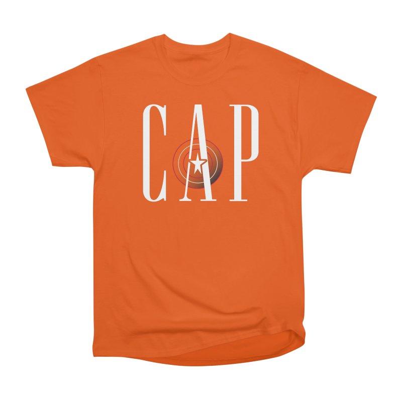 Cap Women's Heavyweight Unisex T-Shirt by Evan Ayres Design